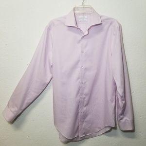 CALVIN KLEIN Slim Dress Shirt Medium